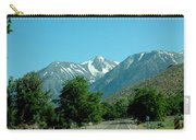 Snow Covered Pass Ahead Carry-all Pouch
