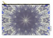 Snow Flake Crystal Carry-all Pouch