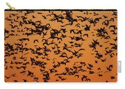 Snow Goose Migration Carry-all Pouch by Mircea Costina Photography