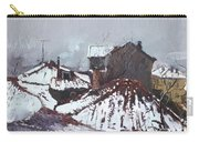 Snow In Elbasan Carry-all Pouch