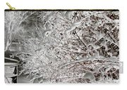 Snow Laden Branches II Carry-all Pouch