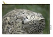Snow Leopards Playing Carry-all Pouch
