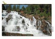 Snow Melt Glen Alpine Falls Carry-all Pouch