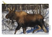 Snow Moose Carry-all Pouch