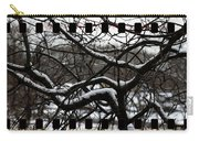 Snow On Branches Carry-all Pouch