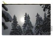 Snow Sun Carry-all Pouch