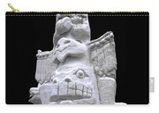 Snow Totem Pole Carry-all Pouch