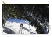 Snow Trail-under The Boughs Carry-all Pouch