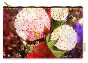 Snowball Plant Abstract 4 Carry-all Pouch