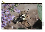 Snowberry Clearwing Moth Feeding Carry-all Pouch