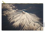 Snowcovered Volcano Andes Chile Carry-all Pouch by Colin Monteath