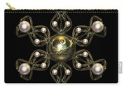 Snowflake Jewel Carry-all Pouch by Hakon Soreide