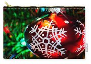 Snowflake Ornament Carry-all Pouch