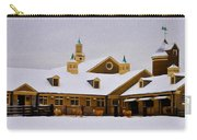 Snowy Day At Erdenheim Farm Carry-all Pouch