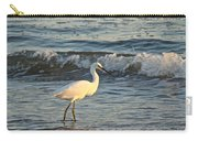 Snowy Egret - Egretta Thula Carry-all Pouch