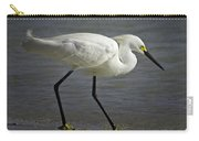 Snowy Egret By The Lagoon Carry-all Pouch