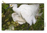 Snowy Egret In Breeding Plumage Carry-all Pouch