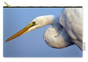 Snowy Egret Ready Carry-all Pouch