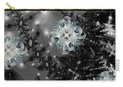 Snowy Night IIi Fractal Carry-all Pouch