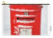 Snowy Pillar Box Carry-all Pouch