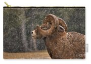 Snowy Ram Carry-all Pouch