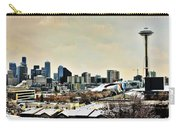 Snowy Seattle Carry-all Pouch