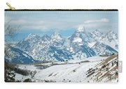 Snowy Tetons Carry-all Pouch