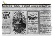 Soap Advertisement, C1866 Carry-all Pouch