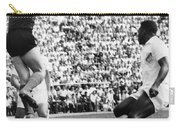 Soccer Match, 1966 Carry-all Pouch by Granger