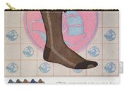 Sock Advertisement, 1925 Carry-all Pouch