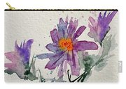 Soft Asters Carry-all Pouch