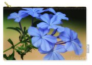 Soft Blue Plumbago  Carry-all Pouch