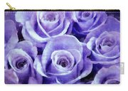 Soft Lavender Roses Carry-all Pouch