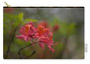 Soft Red Rhodies Carry-all Pouch