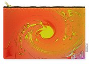 Solar Flare Over Ocean Carry-all Pouch