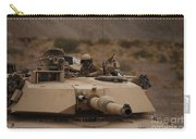 Soldier Looks Out The Main Hatch Carry-all Pouch