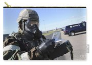 Soldier Uses An M256 Kit To Identify Carry-all Pouch