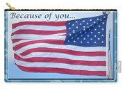 Soldier Veteran Thank You Carry-all Pouch