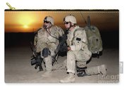 Soldiers Call In Air Support Carry-all Pouch