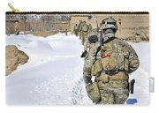 Soldiers Conduct A Patrol In Shah Joy Carry-all Pouch