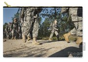 Soldiers Conduct A Ruck March At Fort Carry-all Pouch