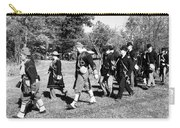 Soldiers March Black And White IIi Carry-all Pouch