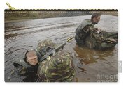 Soldiers Participate In A River Carry-all Pouch