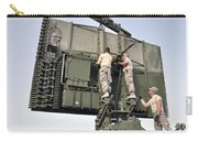 Soldiers Set Up A Tps-75 Radar Carry-all Pouch