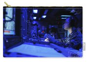 Sonar Technician Stands Watch Carry-all Pouch by Stocktrek Images
