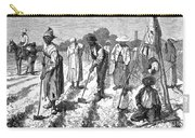South: Cotton Planting Carry-all Pouch by Granger