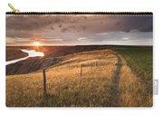 South Saskatchewan River Near Leader Carry-all Pouch