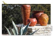 South Western Pottery And Cactus Carry-all Pouch