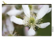 Southern Highbush Blackberry Blossoms - Rubus Argutus  Carry-all Pouch