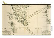 Southern India And Ceylon Carry-all Pouch